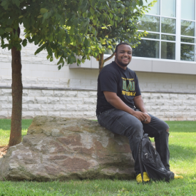 Jordan Farlow, a Delaware Valley University business student