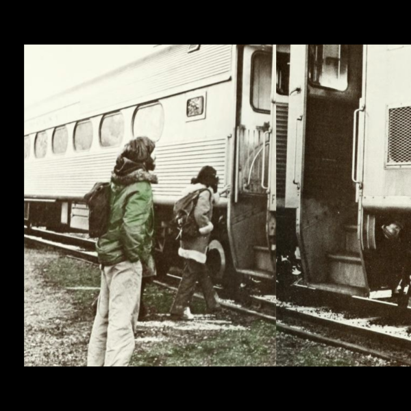 Septa campus train stop 1977