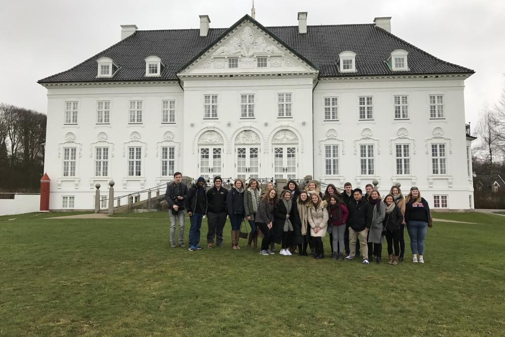 Delaware Valley University students in Denmark