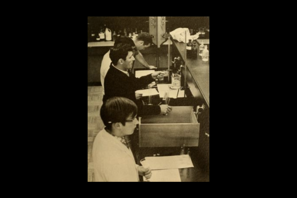 Lab students in the 1960s
