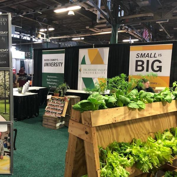 DelVal booth at the PA Farm show