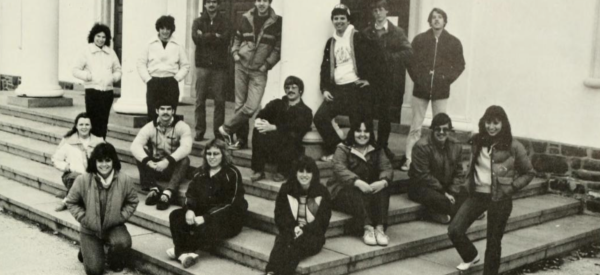 A group photo from 1984