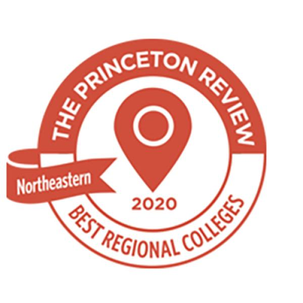 The Princeton Review's badge for Best Regional Colleges